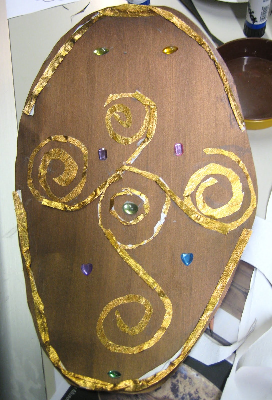 DrawMoreSaunders: Celtic Shield Making, The British Museum