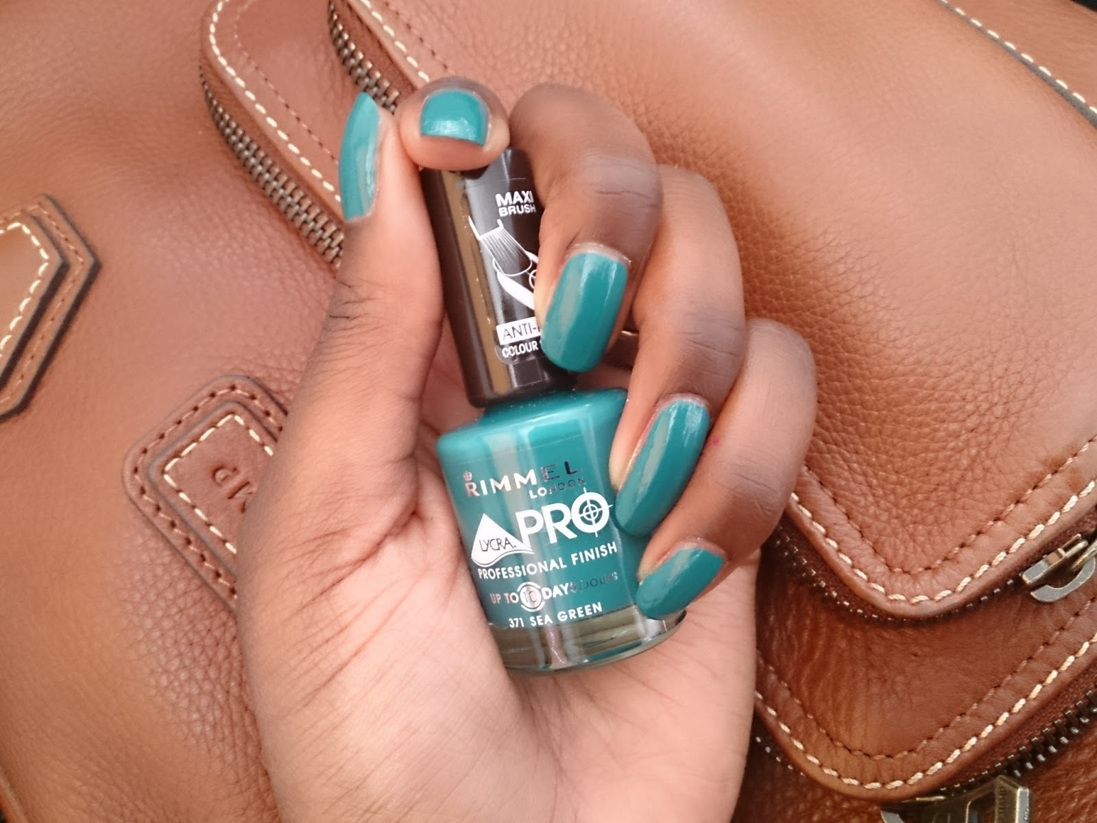 Verniss Rimmel - Sea green