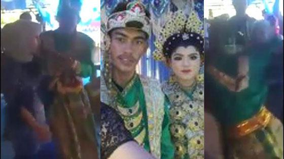 Video Pengantin Pria Pingsan Saat Mantan Sumbang Lagu di Acara Pernikahannya