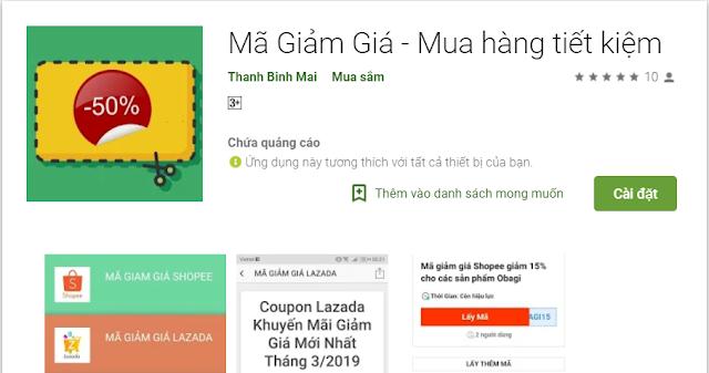 Tải Ứng Dụng Lấy Mã Giảm Giá Shopee Cho Android