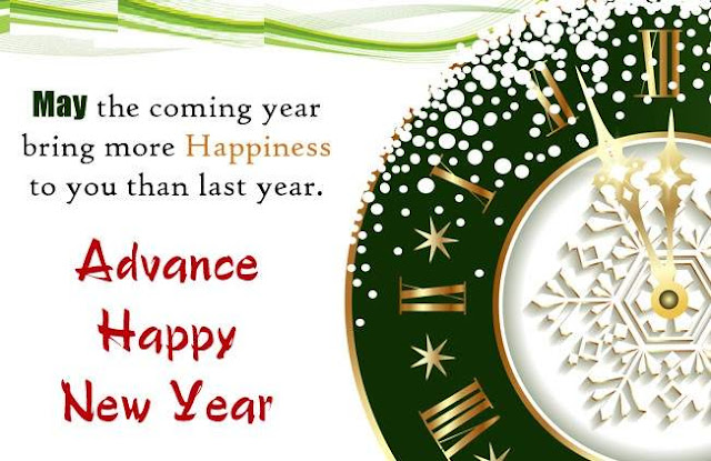 New Year Images in Advance