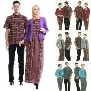 15 desain baju batik couple anak muda model terbaru 2017 Baju gamis anak muda