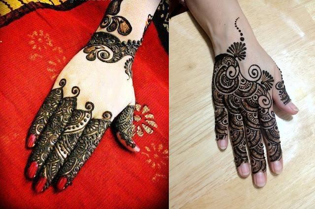 Easy Arabic Mehndi Designs For Back Hands