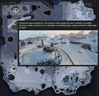 nuevo mapa glaciar en wot actualización 1.0