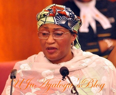 Alhassan gets warm reception as she attends FEC meeting with Buhari