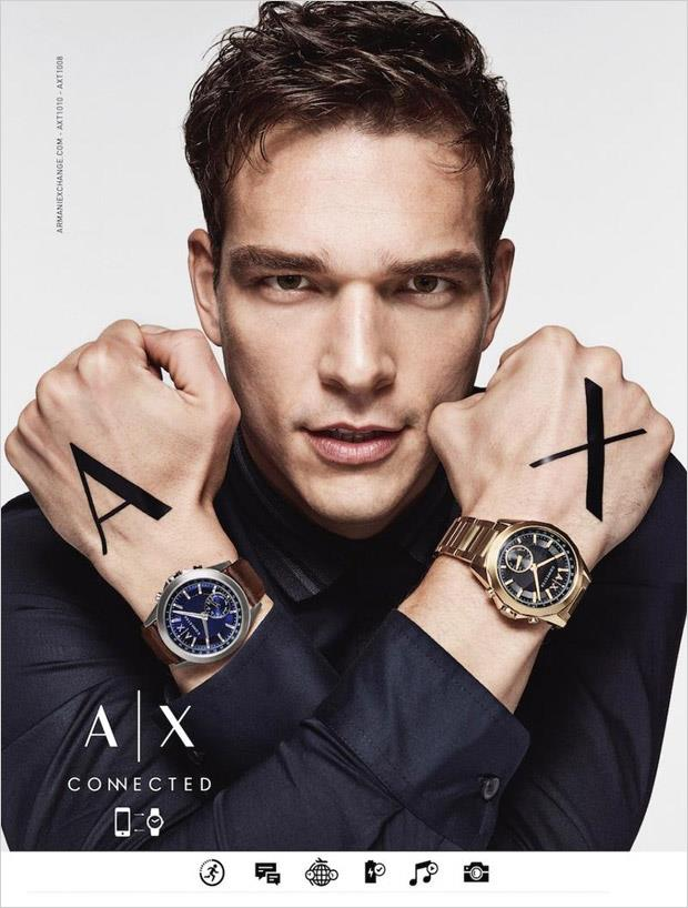 Armani Exchange Watches Campaign Fall/Winter 2017