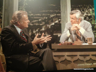Billy Graham and Johnny Carson on the Tonight Show