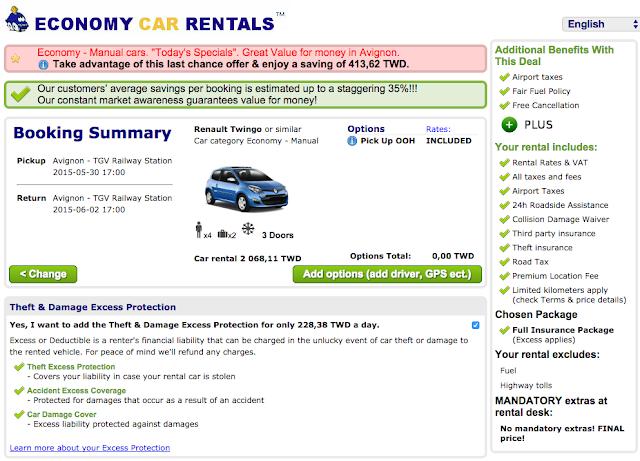 Rate Economy Car Rentals