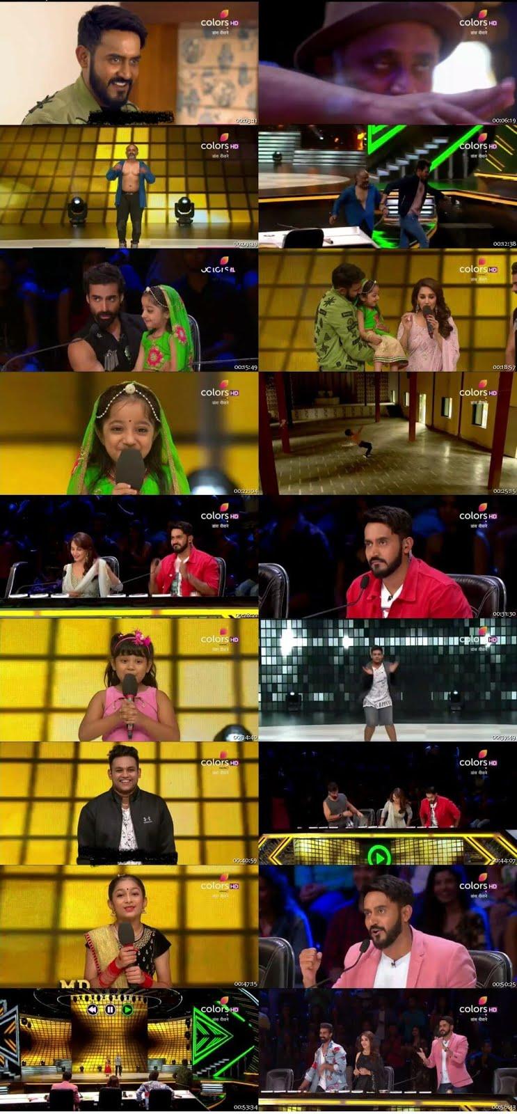 Dance Deewane 2nd June 2018 250MB HDTV 480p x264 Free Download