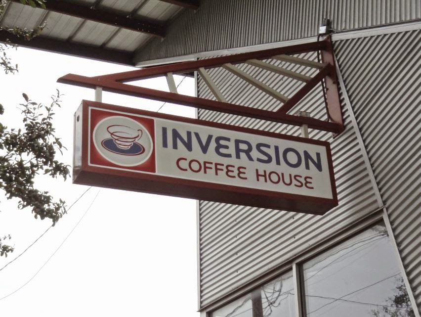 Inversion Coffee House (signage) 1953 Montrose Blvd