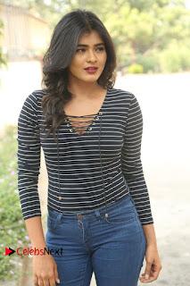 Actress Hebah Patel Stills in Jeans at Nanna Nenu Naa Boyfriends Teaser Launch  0044