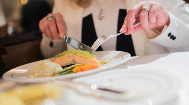 Makan salmon bantu agar langsing