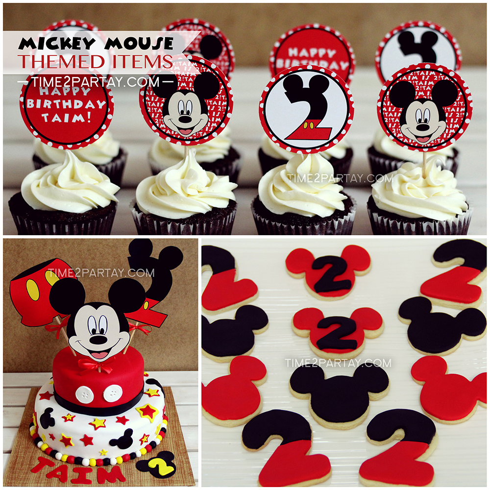 Mickey Mouse Themed Items  Time2partaycom