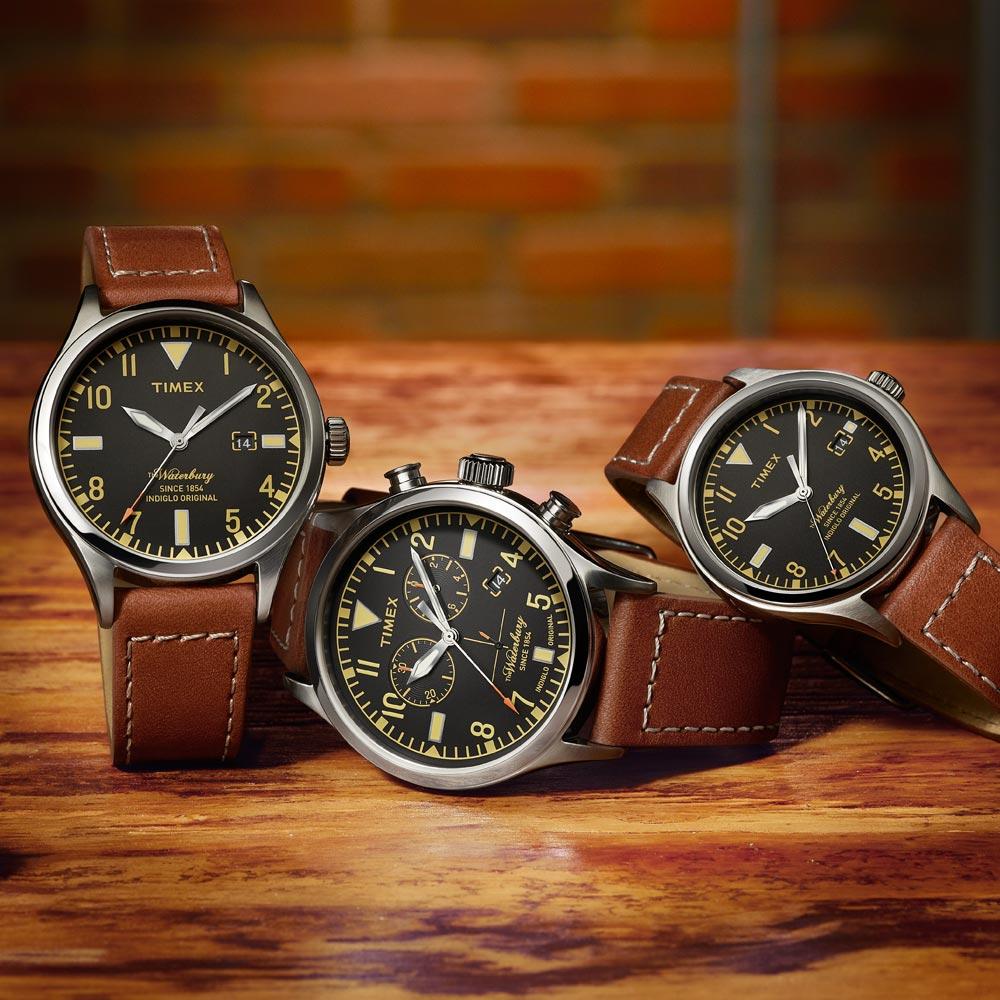 a034eeb26014 TIMEX presenta en México los relojes Waterbury Red Wing