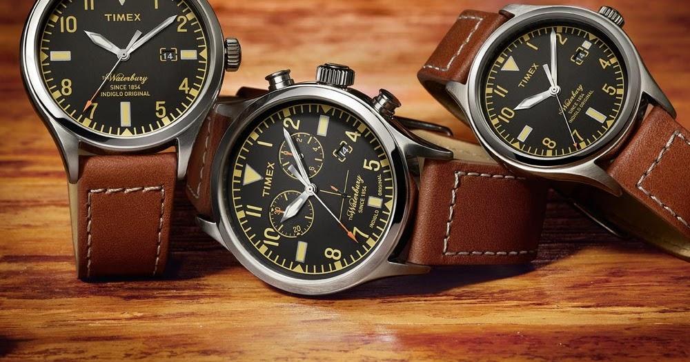 8b7cb6b96be5 TIMEX presenta en México los relojes Waterbury Red Wing