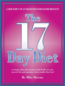Mike Moreno's 17 Day Diet Book