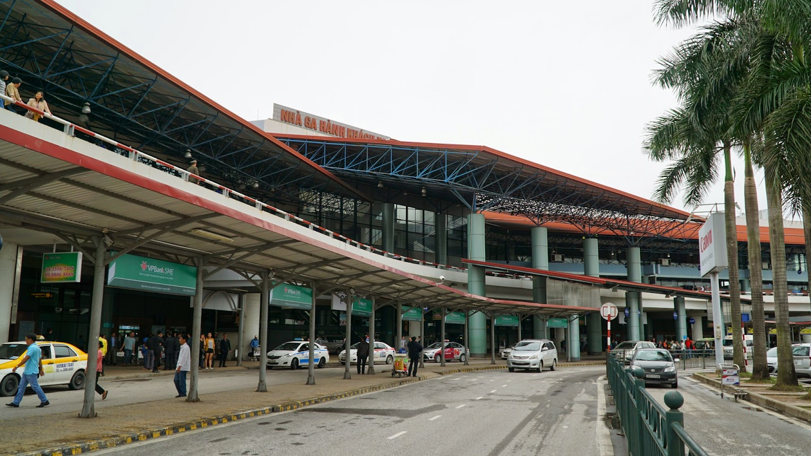 Arriving in Noi Bai international airport
