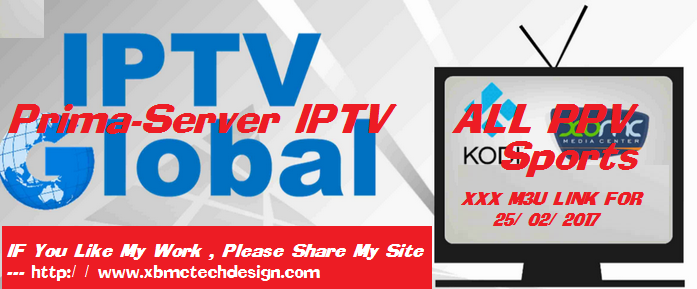 Download  IPTV Server New M3u IPTV All Sports Channel