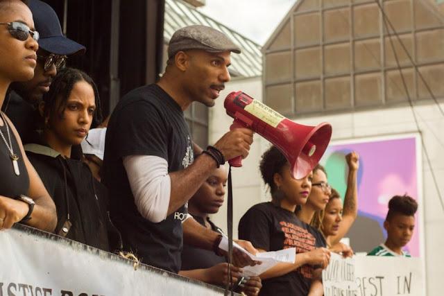 BLM activist Will Prosper
