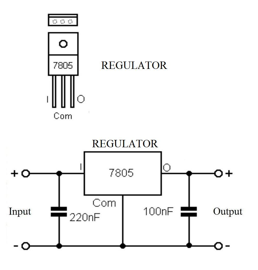 Seven Segment Display Connection Diagram
