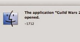 mac application cannot be opened 1712