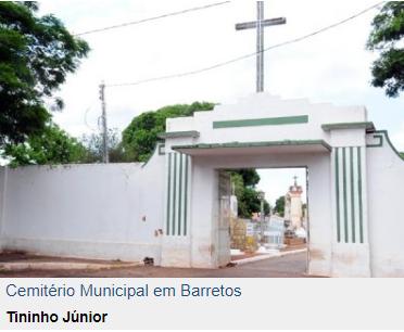 Cemitérios terão cinco missas no dia de Finados (O Diário de Barretos)