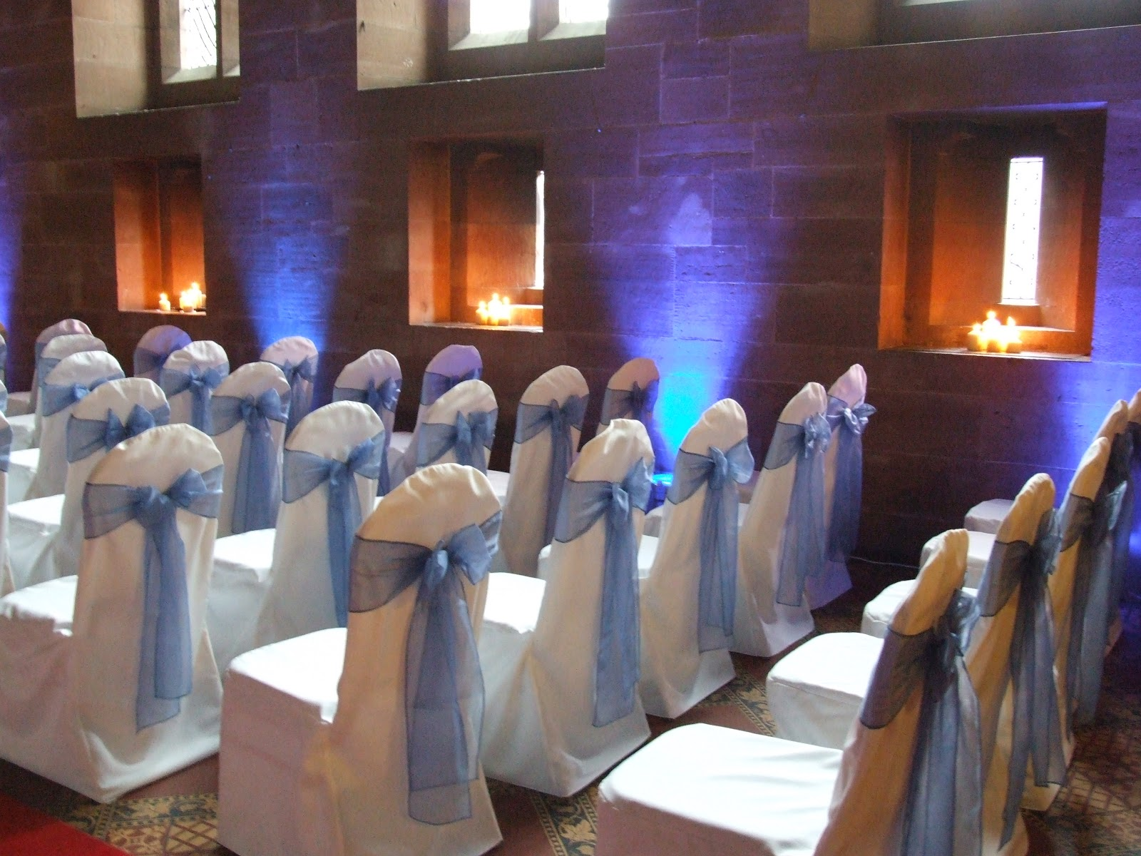 wedding chair covers hire prices funky arm crystal flowers and organza bows to