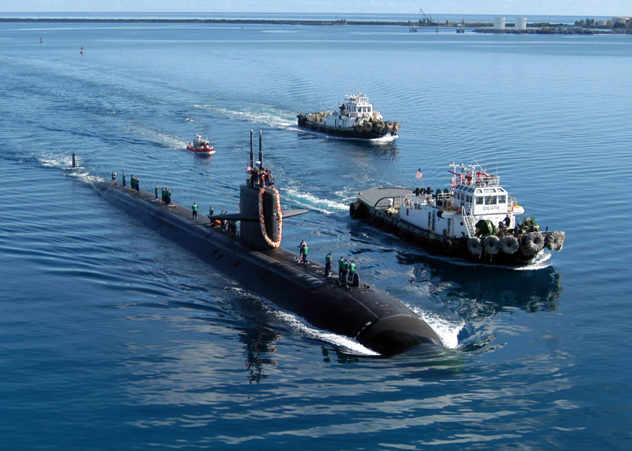 Essay/Term paper: Submarines