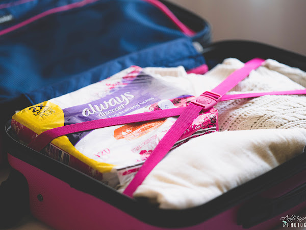Five Things You Must Pack For Your Holiday Travels ~ #AlwaysDiscreet