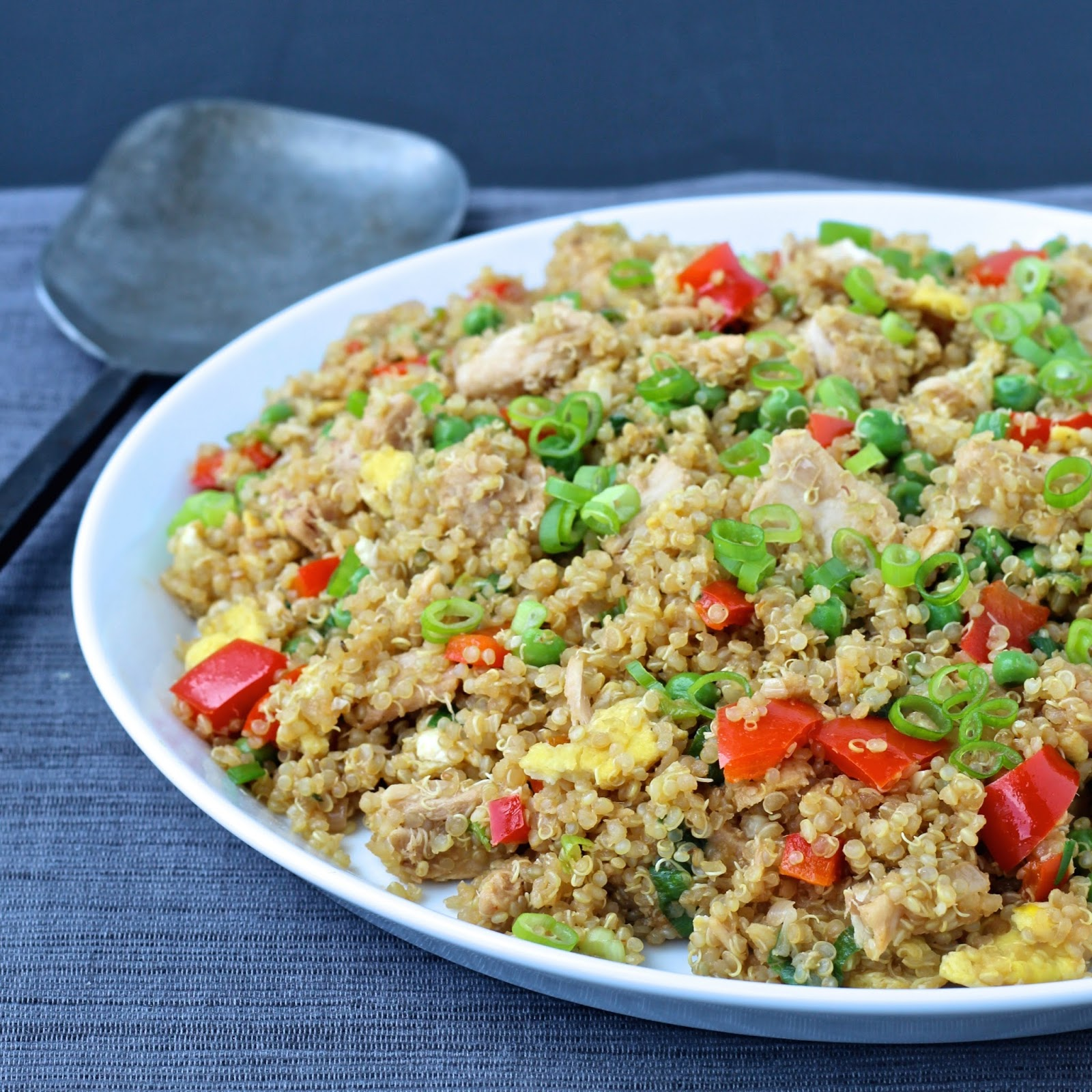 Dining with the doc quinoa fried rice with tuna the foodie friedrice tuna wildselections thefoodiephysician ccuart Gallery
