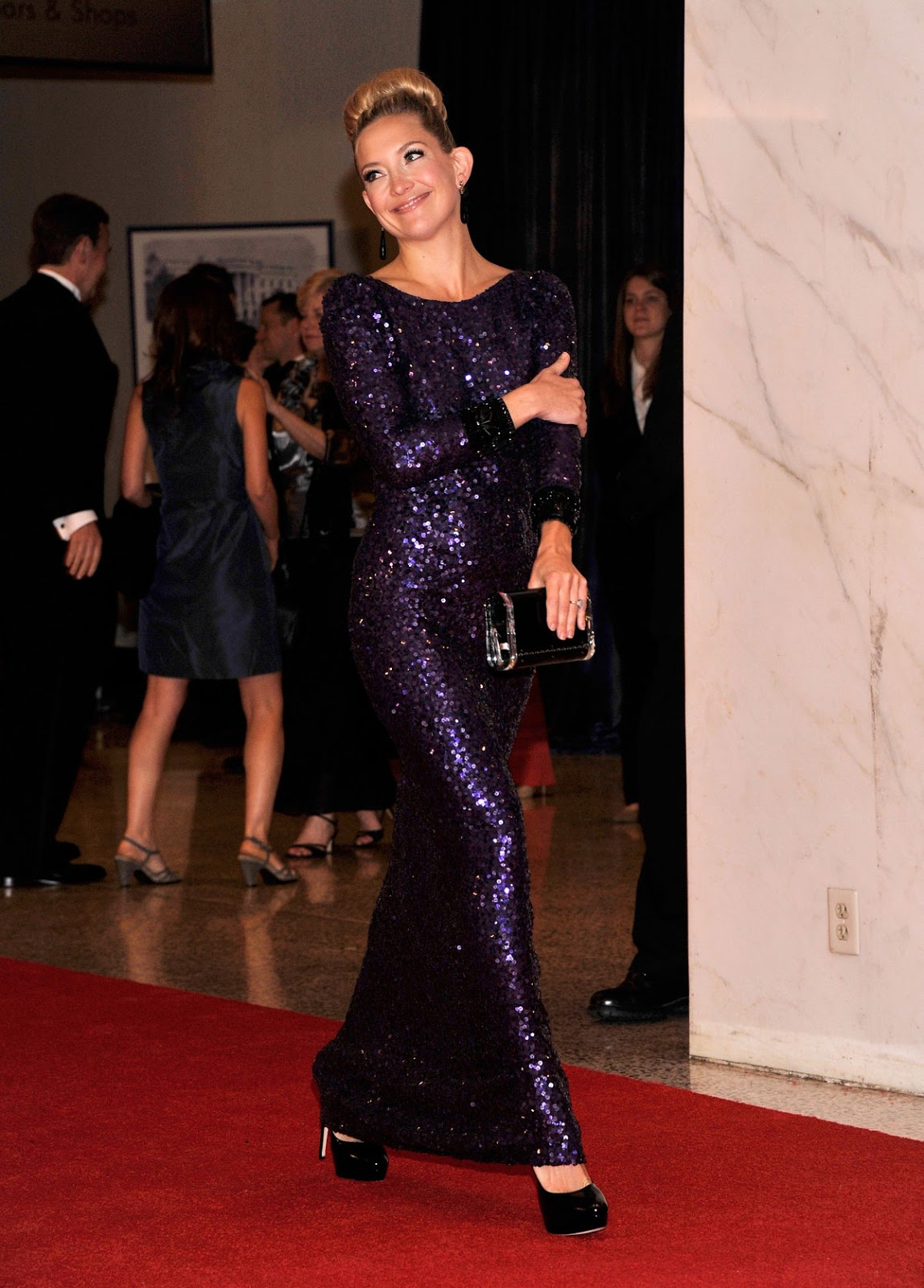 Kate Hudson At 2012 White House Correspondents Association Dinner In Washington