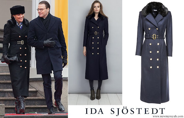 Crown Princess Victoria wore Ida Sjostedt jules coat