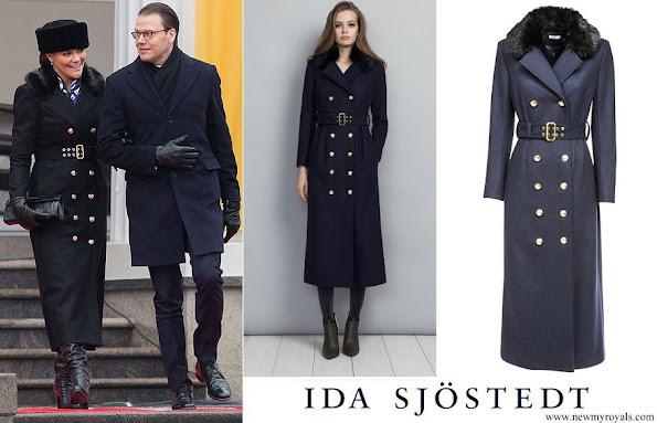 Crown Princess Victoria wore Ida Sjostedt jules coat