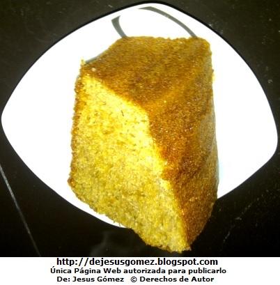 Foto de un keke o queque en trozo por Jesus Gómez