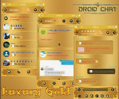 Droid Chat! v10.2.14 Luxury Gold APK