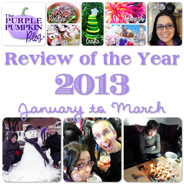Review of the Year 2013 - January to March