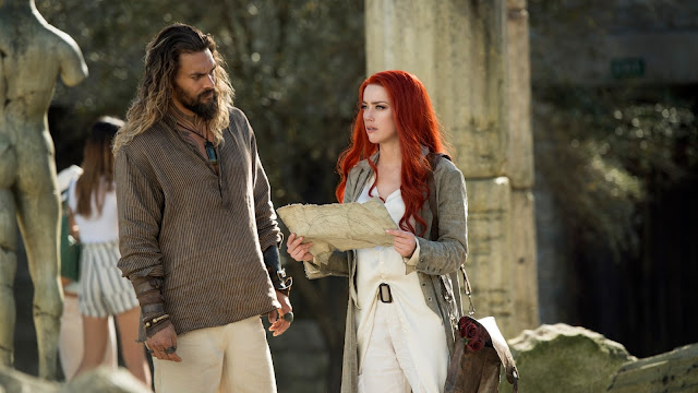 Jason Momoa Amber Heard James Wan | DC Aquaman