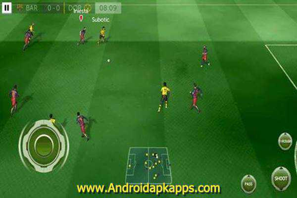 Free Download First Touch Soccer 2015 Mod FIFA 16 Apk Terbaru Gratis