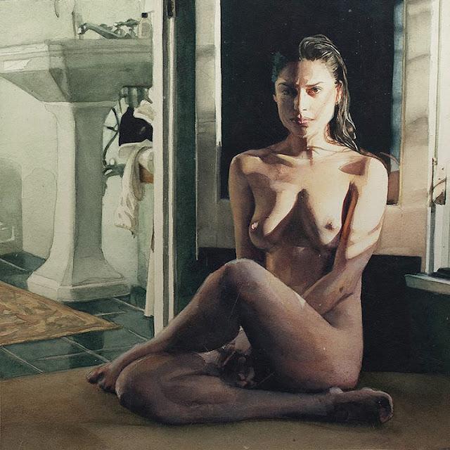 Marcos Beccari Aquarelle - Kunst im Atomlabor Blog