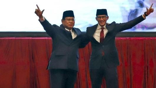 Prabowo Tidak Persoalkan Mantan Koruptor Maju di Pileg 2019