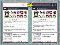 How to changing mobile browser address color bar to match layout blog