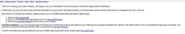 verifikasi adsense menggunakan ktp sukses