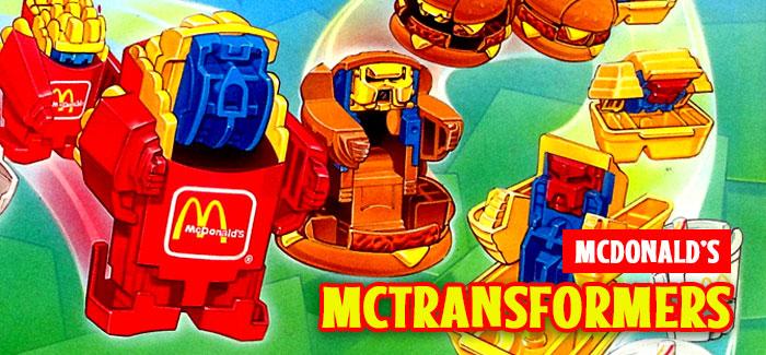 McTransformers / Changeables / McRobots McDonald's
