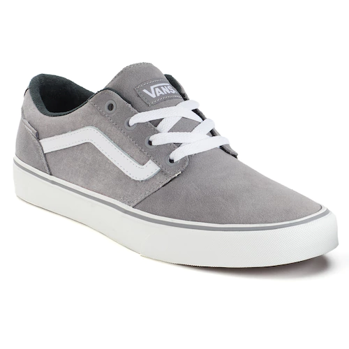 929c9d75a2e Kohls currently offers this Vans Chapman Stripe Men s Suede Skate Shoes on  clearance for  35.99 (Reg.  59.99). Plus