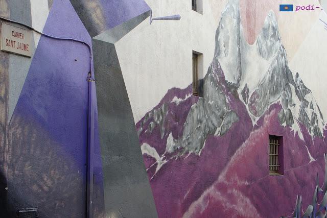 Sabadell - Graffiti al carrer de Sant Jaume
