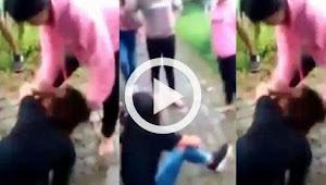 Viral, Pengeroyokan Cewek Dibawah Umur Heboh di Banjarbaru