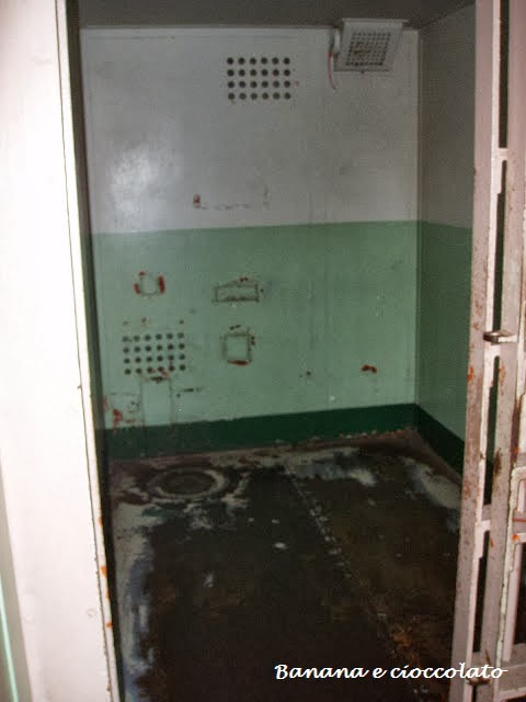 carcere di Alcatraz, cella di isolamento