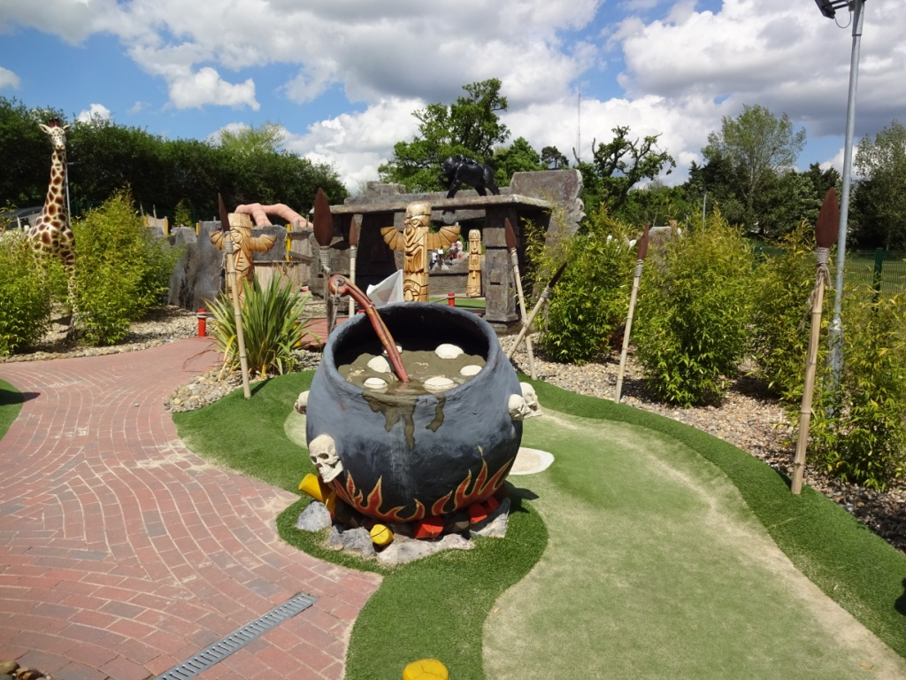 Chef Course Norwich The Ham And Egger Files Congo Rapids Adventure Golf