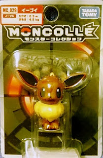Eevee figure Takara Tomy Monster Collection MONCOLLE MC series