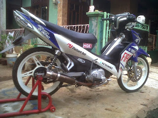modifikasi new jupiter mx street fighter